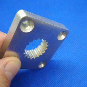 Metalowy odlew utworzony na podstawie modelu drukowanego w technologii SLA